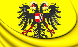 Roman Empire Flag saint 1493-1556 Photographie stock libre de droits