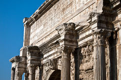 Roman empire monument Royalty Free Stock Image