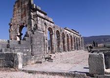Roman empire. Romans historical museum, mosaic, architecture stock images
