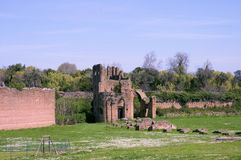 Roman Empire ruins 3 stock images
