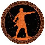 Roman Empire Warrior illustration de vecteur