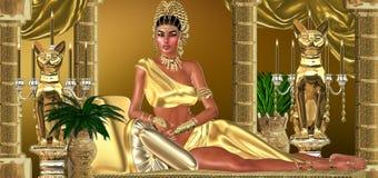 Roman Empress royaltyfri illustrationer