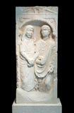 Roman era sandstone grave stele Stock Photography