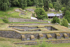 Roman excavations, Magdalensberg, Austria Royalty Free Stock Image