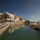 Roman fish tanks in Sitia Crete Stock Photo