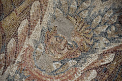 Roman floor mosaic Royalty Free Stock Image