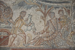 Roman floor mosaic Stock Photography