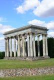 Roman Folly in giardino inglese Fotografia Stock Libera da Diritti