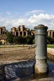 Roman fontein royalty-vrije stock afbeelding