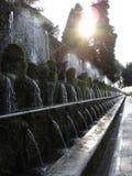 Roman fonteinen van Tivoli Stock Fotografie