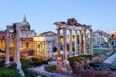 roman fora royaltyfri bild