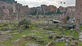 roman fora oklarhet Roma Italien lager videofilmer
