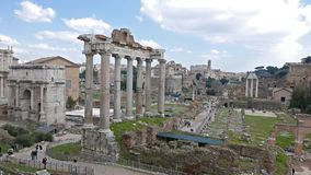 roman fora panorama italy rome lager videofilmer