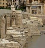 roman forntida bro Arkivbilder