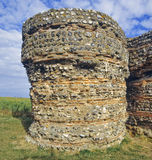 roman fort royaltyfria bilder