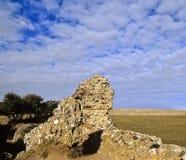roman fort royaltyfri fotografi