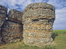 Roman fort Stock Image