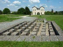 Roman Fort Royaltyfri Bild