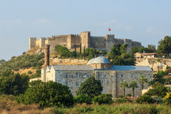 Roman fortress in Selcuk Stock Photography
