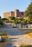 Roman fortress at Selcuk Ephesus Turkey Stock Photography