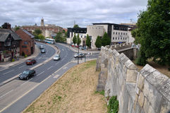 Roman Fortress, York, Royaume-Uni Photos stock