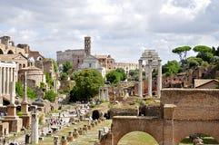 roman forum obraz stock