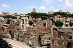 The Roman Forum Stock Image