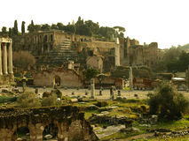 Roman Forum. In Rome, place where ancient civilization started Royalty Free Stock Images