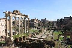 The Roman Forum Stock Photo