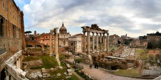 Roman Forum. stock image