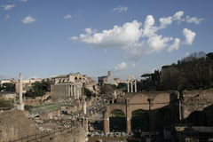 Roman Forum Royalty-vrije Stock Fotografie