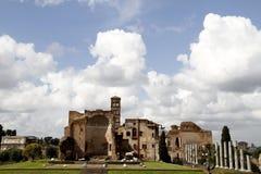 Roman forum Stock Image