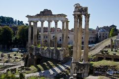 Roman Forum Royalty Free Stock Photography