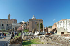 The Roman Forum Royalty Free Stock Photos