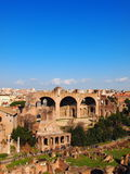 The Roman Forum. View from Palatine Hill, Rome, Italy Royalty Free Stock Images
