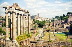 Roman Forum royaltyfri foto