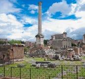 Roman Forum Stockbilder
