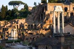 Roman Forum stock afbeeldingen