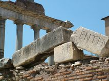 Roman Forum Stock Photos