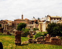 Roman Forum Royalty-vrije Stock Afbeelding