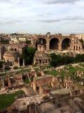 Roman forum stock afbeelding