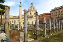 Roman Forum, altes Rom Stockbilder