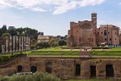 Roman Forum, altes Rom Stockfotos