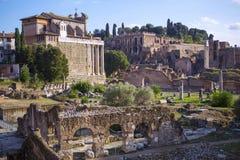 Roman Forum, altes Rom Stockfoto