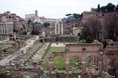 Roman Forum. Ancient architecture Rome Italy. stock photos