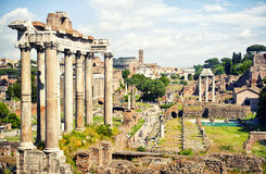 Roman Forum Royalty Free Stock Photo
