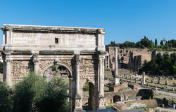 The Roman Forum Stock Images