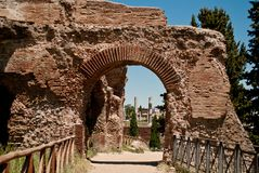 Roman Forum arc Royalty Free Stock Photo