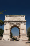 Roman Forum. Arch of Titus. The ruins of Roman forum. Arch of Titus. Rome, Italy Stock Images