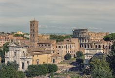 Rome city in daytime royalty free stock images